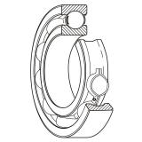 timken NNU49/750MAW33 Cylindrical Roller Radial Bearings/Two-Row